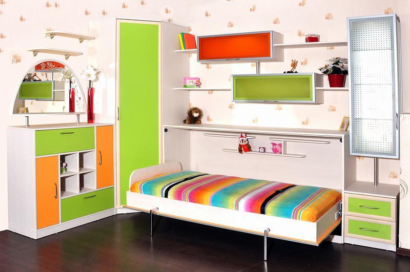 кровать трансформер для детской комнаты тренд